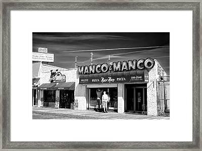 Manco And Manco Framed Print by John Rizzuto
