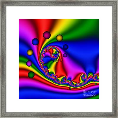 Mandala 154 Framed Print by Rolf Bertram