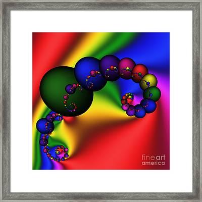 Mandala 155 Framed Print by Rolf Bertram