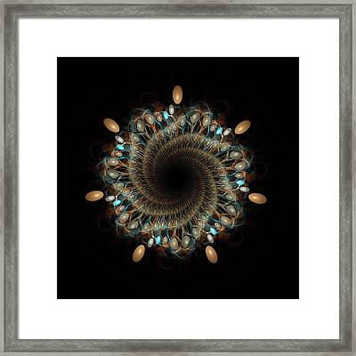 Mandala 157 Framed Print by David April