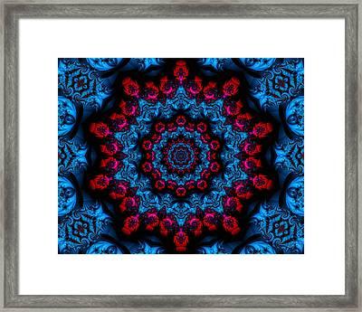Mandala Design 22 Framed Print by Lanjee Chee