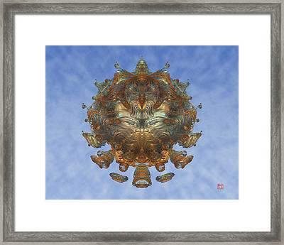 Mandalabrot Framed Print by David Jenkins