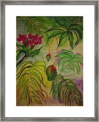 Mangoes Framed Print by Lee Krbavac