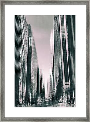 Manhattan Metropolis Framed Print by Jessica Jenney