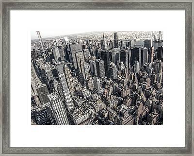 Manhattan Framed Print by Nicklas Gustafsson