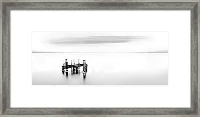 Man's Remnants Framed Print by Az Jackson
