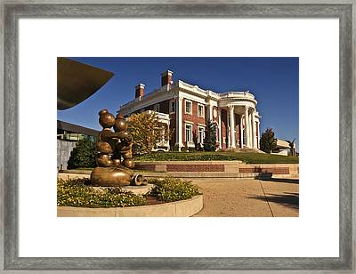 Mansion Hunter Museum Framed Print by Tom and Pat Cory