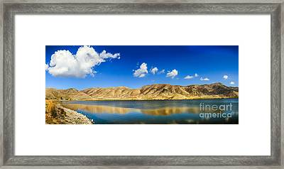 Mantua Reservoir  Framed Print by Robert Bales