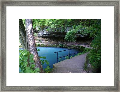 Maramec Springs 3 Framed Print by Marty Koch