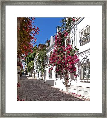Marbella Old Town Framed Print by Kenton Smith