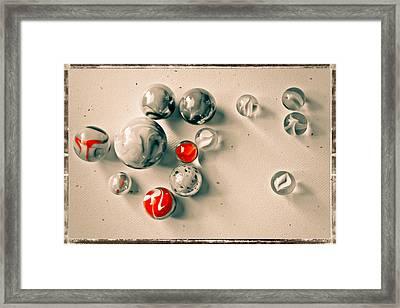 Marble Art Framed Print by Colleen Kammerer