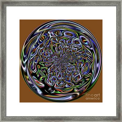 Marble Framed Print by Terry Weaver