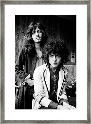 Marc Bolan T Rex 1969 Framed Print by Chris Walter