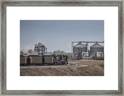 March 18 2015 - Norfolk Southerns Ndn1 Framed Print by Jim Pearson