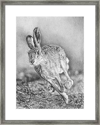 Need For Speed Framed Print by Frances Vincent