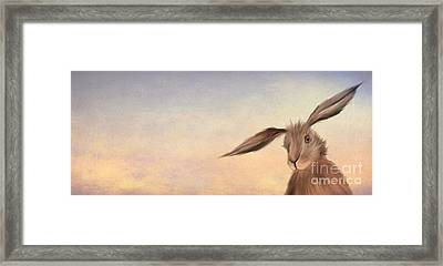 March Hare Framed Print by John Edwards