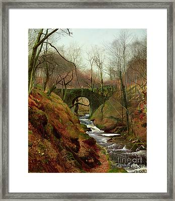 March Morning Framed Print by John Atkinson Grimshaw
