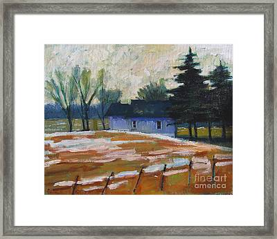 March Thaw Framed Print by Charlie Spear