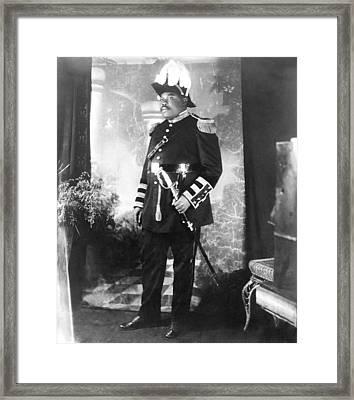 Marcus Garvey 1887-1940 Framed Print by Everett
