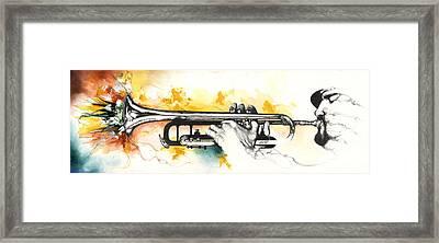 Mardi Gras Framed Print by Anthony Burks Sr