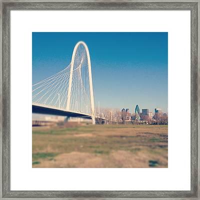 Margaret Hunt Hill Bridge Framed Print by David Kozlowski