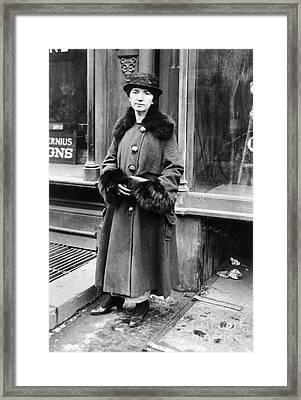 Margaret Sanger Framed Print by Granger