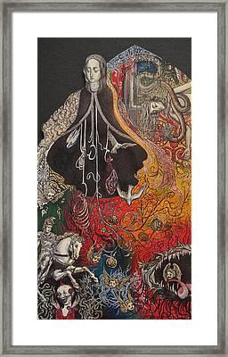 Maria Del Carne Framed Print by Jordan Montgomery