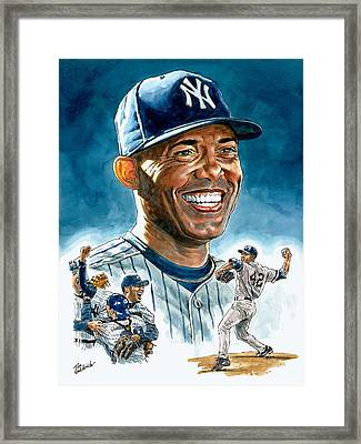 Mariano Framed Print by Tom Hedderich