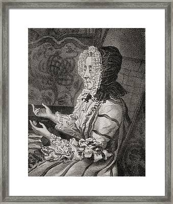 Marie Anne De Vichy-chamrond, Marquise Framed Print by Vintage Design Pics