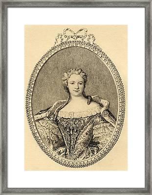 Marie-catherine -sophie-felicite Framed Print by Vintage Design Pics