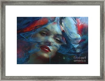 Marilyn 128 A 4 Framed Print by Theo Danella