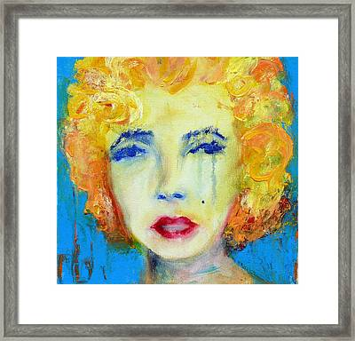 Marilyn Framed Print by Jacquie Gouveia