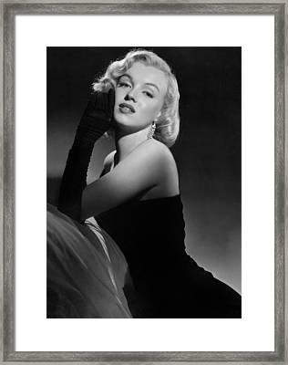 Marilyn Monroe Framed Print by American School