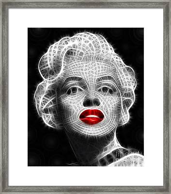 Marilyn Monroe Framed Print by Pamela Johnson