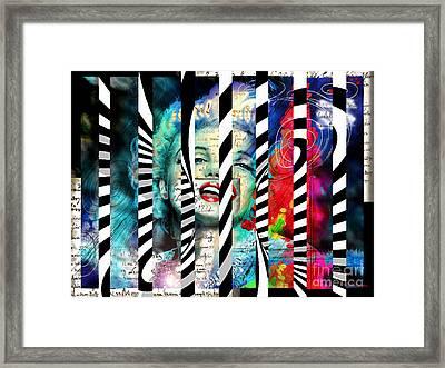 Marilyn Sis 1 Framed Print by Theo Danella