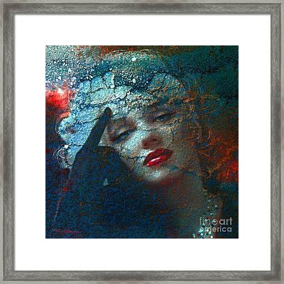 Marilyn Str. 1 Framed Print by Theo Danella