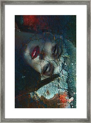 Marilyn Str.3 Framed Print by Theo Danella