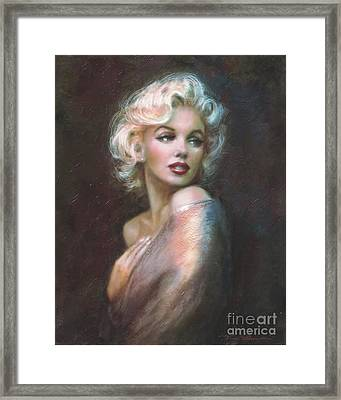 Marilyn Ww  Framed Print by Theo Danella