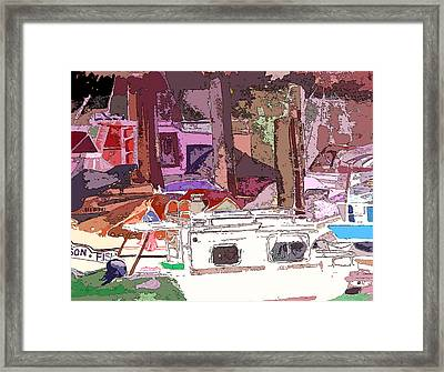 Marina Framed Print by Mindy Newman
