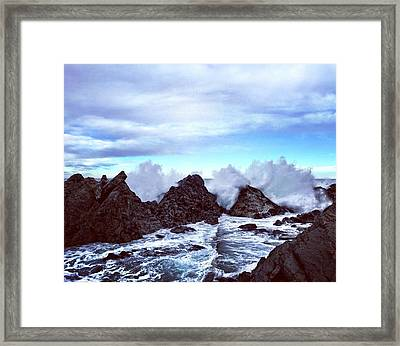 Marine Framed Print by Contemporary Art