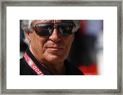 Mario Andretti Racing Legend Framed Print by Jeff  Young