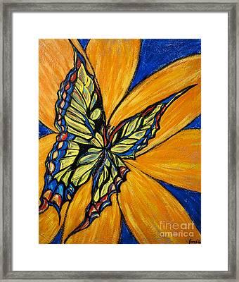 Mariposa Framed Print by Becca Lynn Weeks
