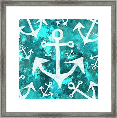 Maritime Anchor Art Framed Print by Jorgo Photography - Wall Art Gallery