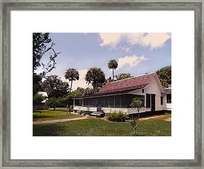 Marjorie Kinnan Rawlings Home Framed Print by Gordon Beck