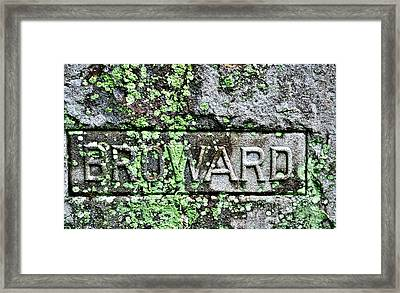Marker Framed Print by William Jones