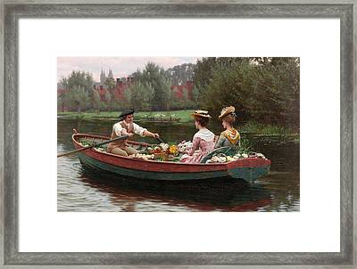 Market Day Framed Print by Edmund Blair Leighton