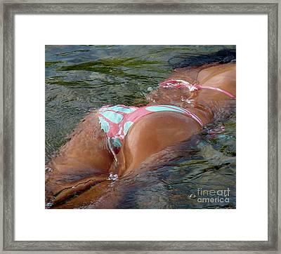 Marlin Framed Print by Tomas Voorhees
