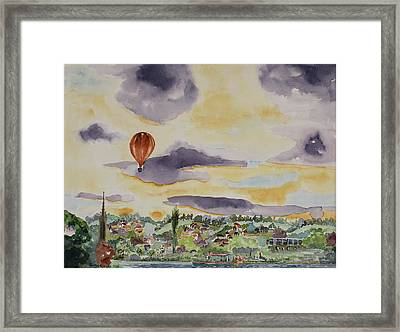 Marlow Impression Framed Print by Geeta Biswas