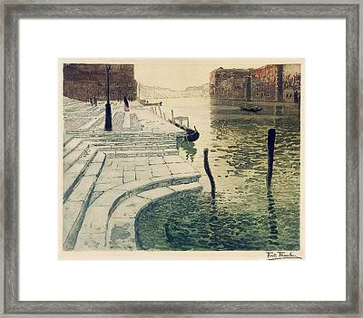 Marmortrappen Framed Print by MotionAge Designs