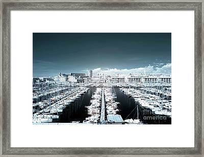Marseille Blues Framed Print by John Rizzuto